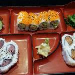 My box lunch on Saturday at Benton Sushi Café next to Costco.  Shopping is hell! Jonathan