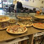 Hard pizza by the slice daily lunch specials make it fresh every day