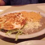 Shrimp quesadilla-Wow! Yummm!