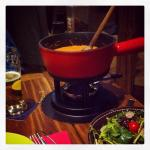 cheese tomatoe ail des ours fondue