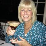 Stefanie Fredette shows off her Chocolate Martini.