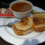 Soup and sandwich, Victoria Inn  |  160 Hyw. #10-A North, Flin Flon, Manitoba R8A 1M9, Canada