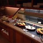 Hot buffet breakfast bar