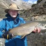 9 pound brown trout 2014