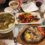 Bangus Sisig and Crispy Binago Ongan