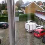 View from window of bedroom