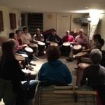 Wednesday Night Drum Class with Audrey!