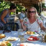 Lunch w tawernie nad morzem