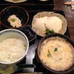 湯葉丼セット