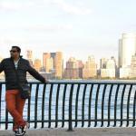 Hudson river and Manhattan view