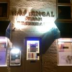 View from the outside of Raj Bengal