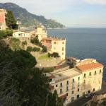 The view on the way from Punta Civita down to Amalfi