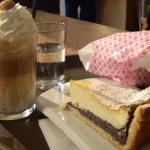 Poppy seed cake and a hot toffee