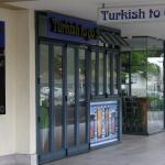 The restaurant front