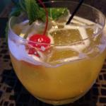 Juju cocktail - tasted like a grapefruit mojito