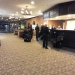 Counter Area at the Strongsville Holiday Inn