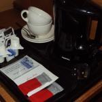 Coffee and tea-making facilities