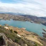Vista del Torre del homenaje- Zahara de la Sierra