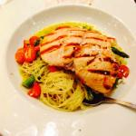 Chicken with asparagus, very good!