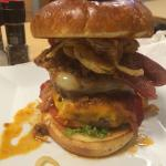 The hot mess. Great burger!