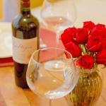 ... und zu Allem ein guter Wein