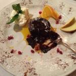 Chokoladen souflè! Delicious