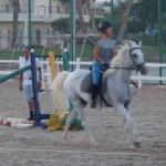 Jumping lesson on Amar with Mohammed����