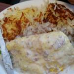 Corky's omelette