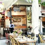 Yard's outdoor seating