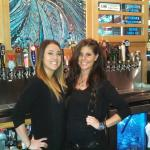 Natily and tiffany Rockin the bar At the Lab