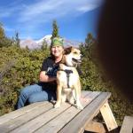 Marlie and me. Spring Hill Trails, Mt. Shasta, CA