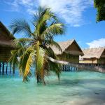 Our over-water bungalows...