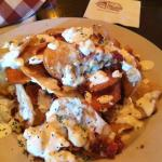 Blue cheese chips - OMG!!