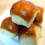 Gigantic, buttery, fluffy dinner rolls - touch of sweetness - amazing!