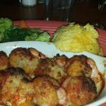 I ordered the stuffed shrimp and tried the ya ya grits for the first time ever. It was FABULOUS!