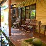 The contemplative back verandah