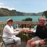 toasting 50 yrs on our personal deck