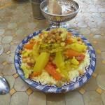 Couscous with veggies