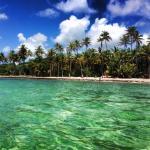 plage devant le Paradisio