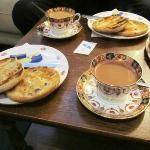 Teacakes and real tea!