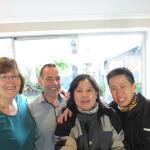 Jude, Alex, Sylvia & Bernard
