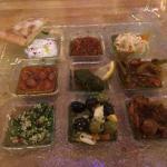 mixed cold starter platter