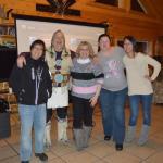 Ben with happy guests at Chandalar Ranch
