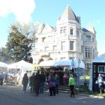 Conrad-Caldwell Mansion during October St. James Art Show