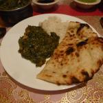 Chicken Sagwalla with Butter Naan