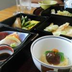 In Ryokan isst man mit den Augen