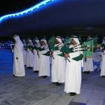 Réception traditionnelle à l'hippodrome Meydan