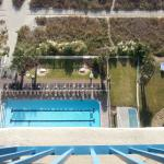 Aerial view from balcony