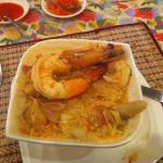 Tom Yum soup with Prawns