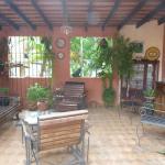patio interno de la casa